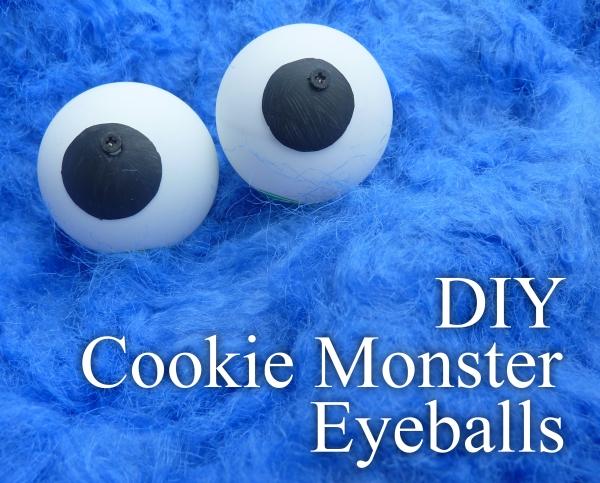 DIY Googly (Cookie Monster) Eyes October 17, 2012