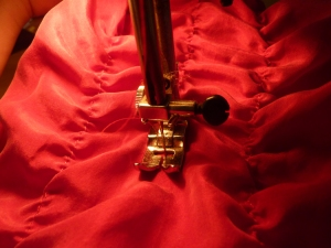 Sewing ruffles